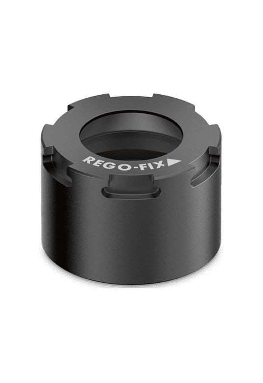Hi-Q/ ERMX intRlox clamping nut by REGO-FIX